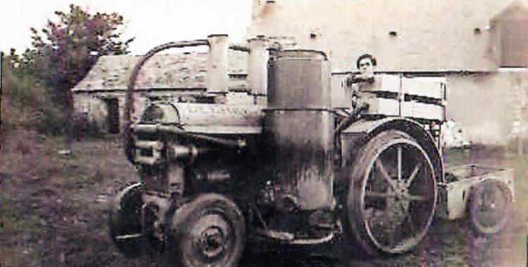 Lucien Gallais ... une vie de tracteur à Bouère