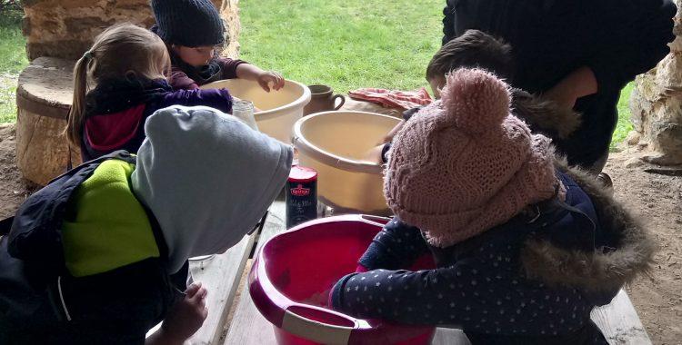 Les écoles font leur pain à la ferme au village